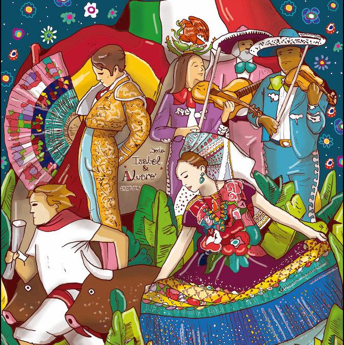 Una boda mexicana – Photocall bodas originales